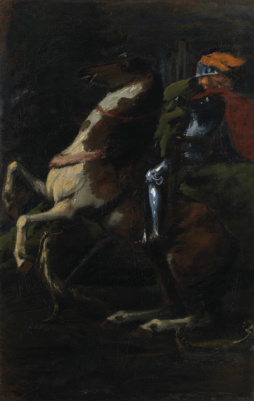 Die drei Reiter II: Hl. Georg