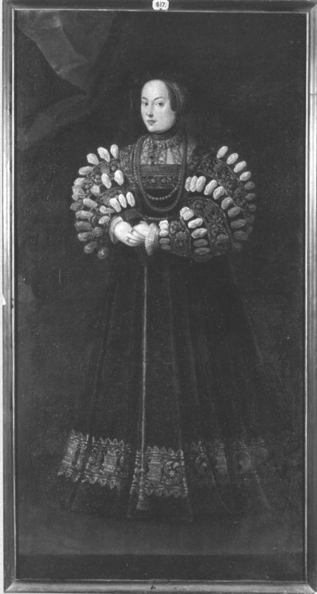 Bildnis der Erzherzogin Elisabeth von Österreich, erste Gemahlin des Königs Sigismund II. August von Polen