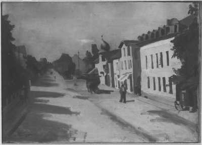 Straße in Milbertshofen