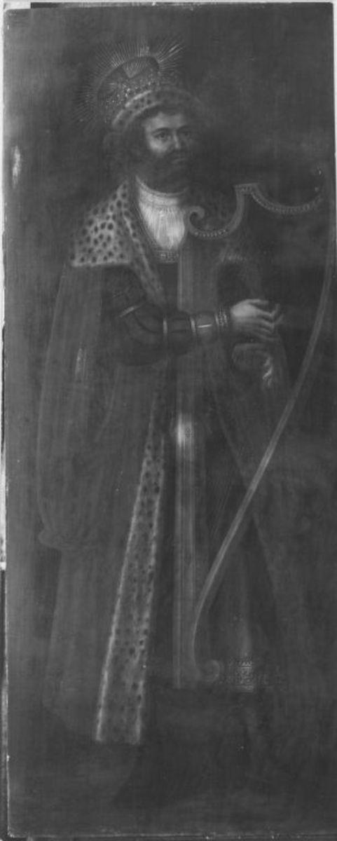 König David mit der Harfe