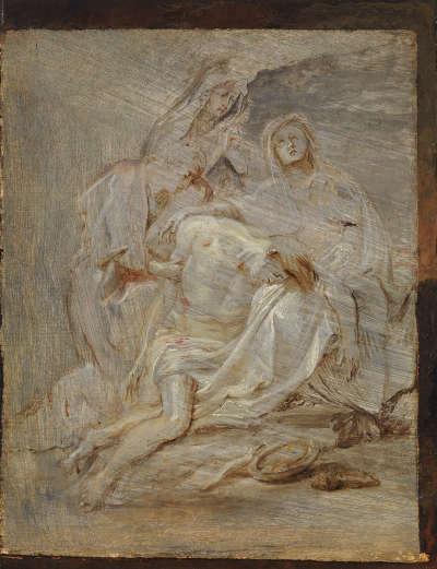 Beweinung Christi (Skizze)