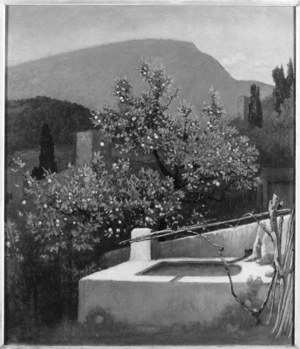 Garten an der Riviera