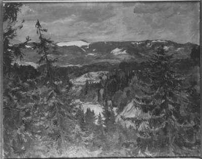 Gebirge bei Miesbach