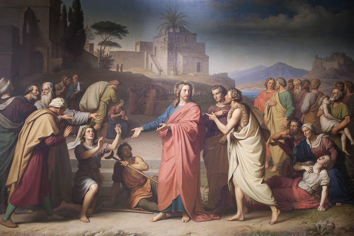Christus heilt die Kranken