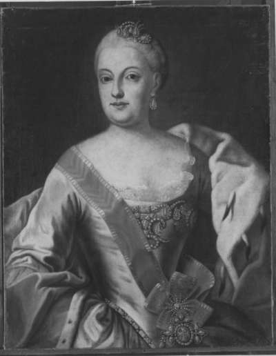 Bildnis der Maria Anna, Gemahlin des Kurfürsten Maximilian III. Josephs von Bayern
