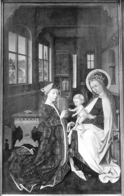 Altar des Marcus Landauer: Verlobung der hl. Katharina