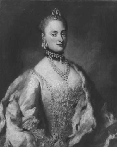 Bildnis der Elisabeth Apollonia, Tochter des Kurfürsten Friedrich