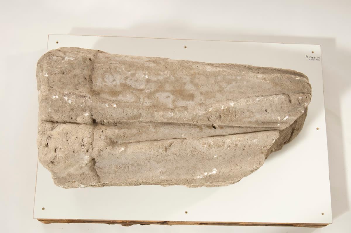 Künstlerbalustrade der Alten Pinakothek: Fragment einer unbekannten Figur
