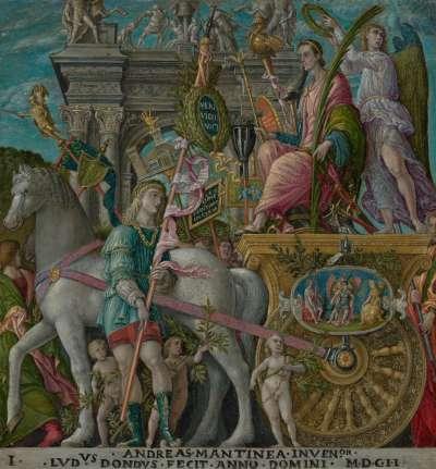 Cäsars Triumphzug (nach Mantegna, Bild IX)