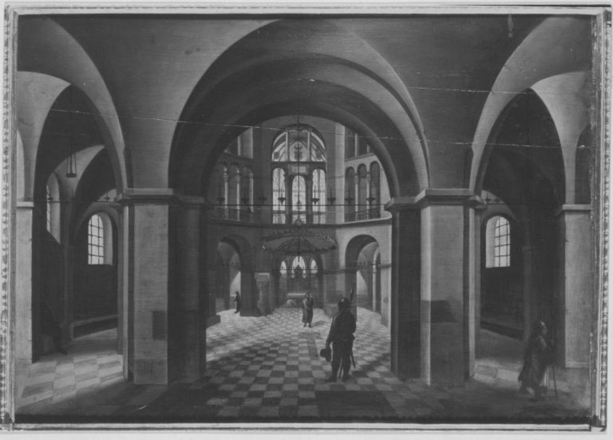 Inneres des Aachener Domes