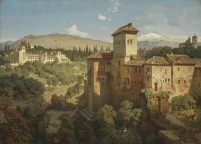 Das Generalife bei Granada