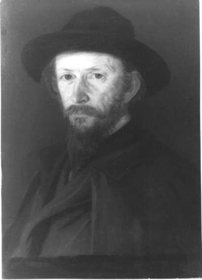Der Maler Emil Lugo