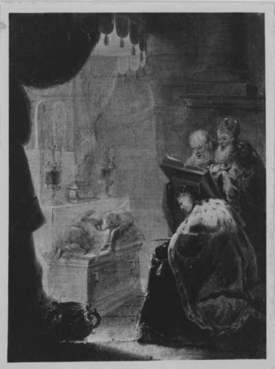 Salomons Gebet zur Tempeleinweihung