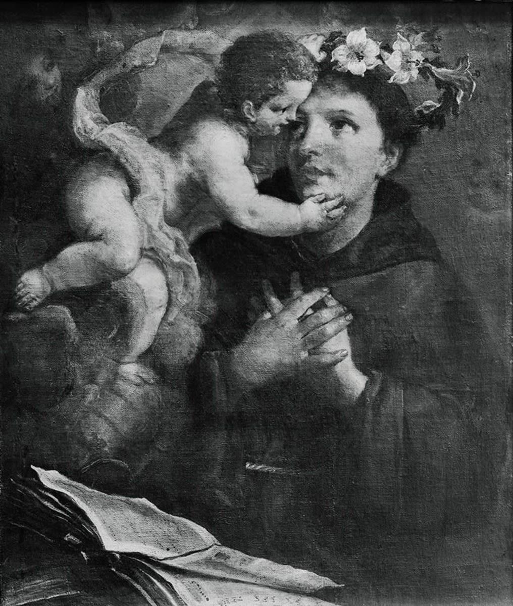Christus erscheint dem hl. Antonius