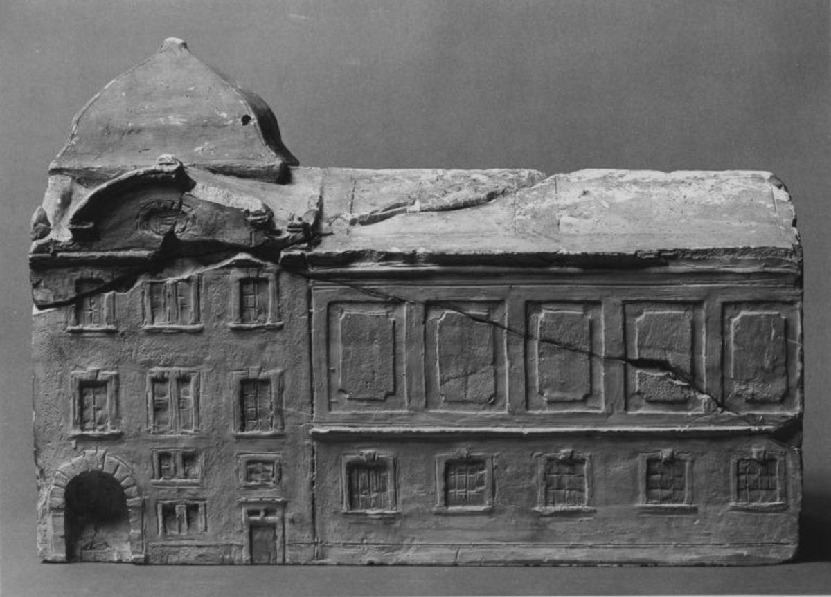 Modell für den Erweiterungsbau der Schack-Galerie in München