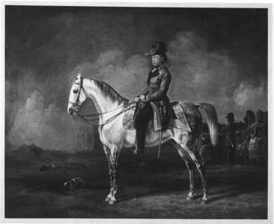 Feldmarschall Joseph Wenzel Graf Radetzky zu Pferd