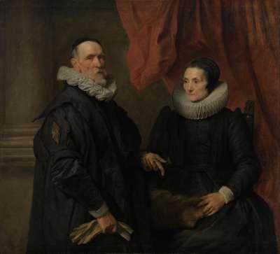 Der Maler Jan de Wael und seine Frau Geertruid de Jode