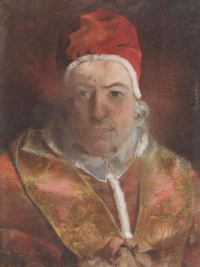 Bildnis des Papstes Benedikt XIV.