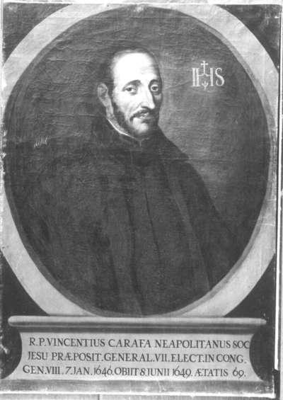 Neapolitanischer Jesuit Vincentius Carafa
