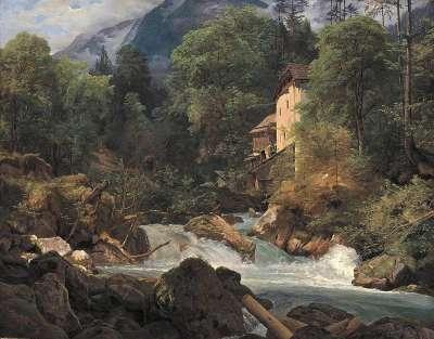 Mühle am Ausfluss des Königssees