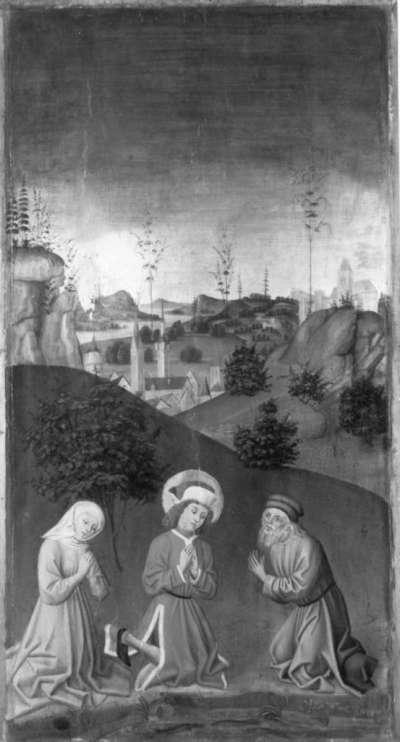 Veitsaltar: Tod der hll. Vitus, Modestus und Crescentia