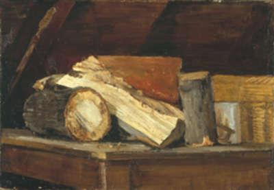 Holzklobenbild