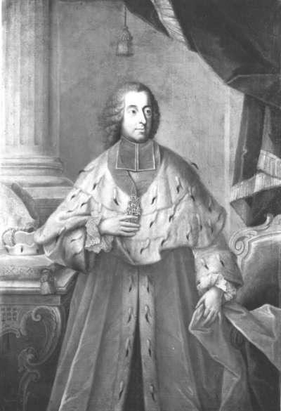 Bildnis des Kurfürsten und Erzbischofs Clemens August von Köln