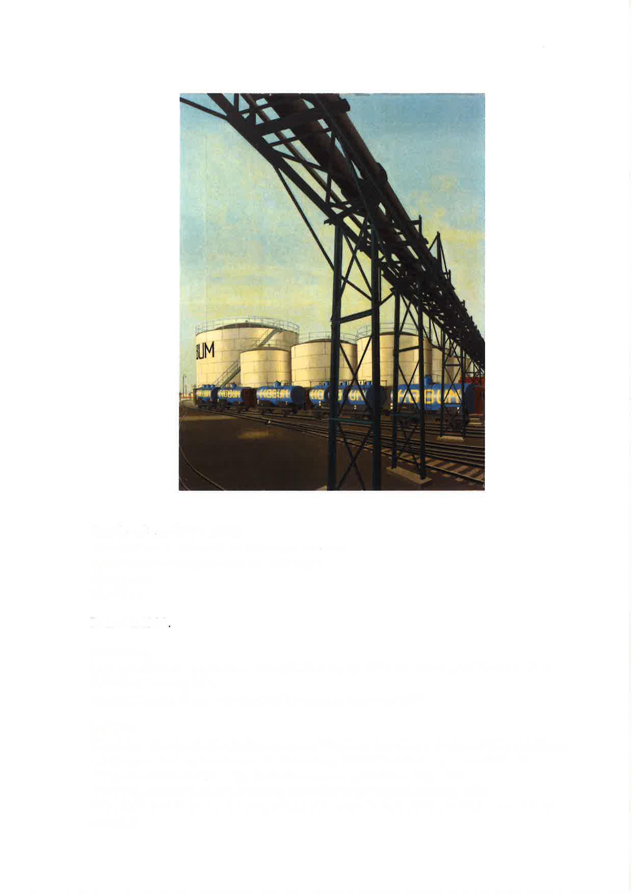 Weiße Röhren / Weiße Tanks (Harburger Ölwerke)