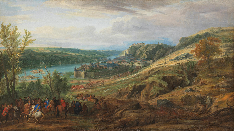 Der Aufmarsch vor Dinant, 1675