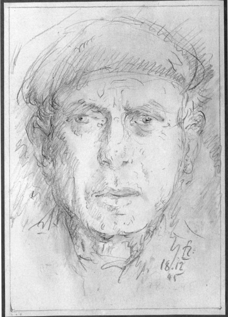 Bildnis eines Mannes (Selbstbildnis)