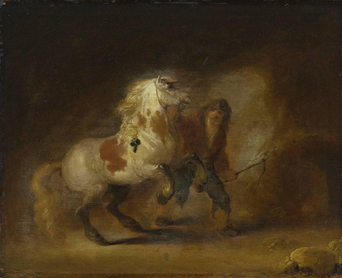 Pferd und Knecht