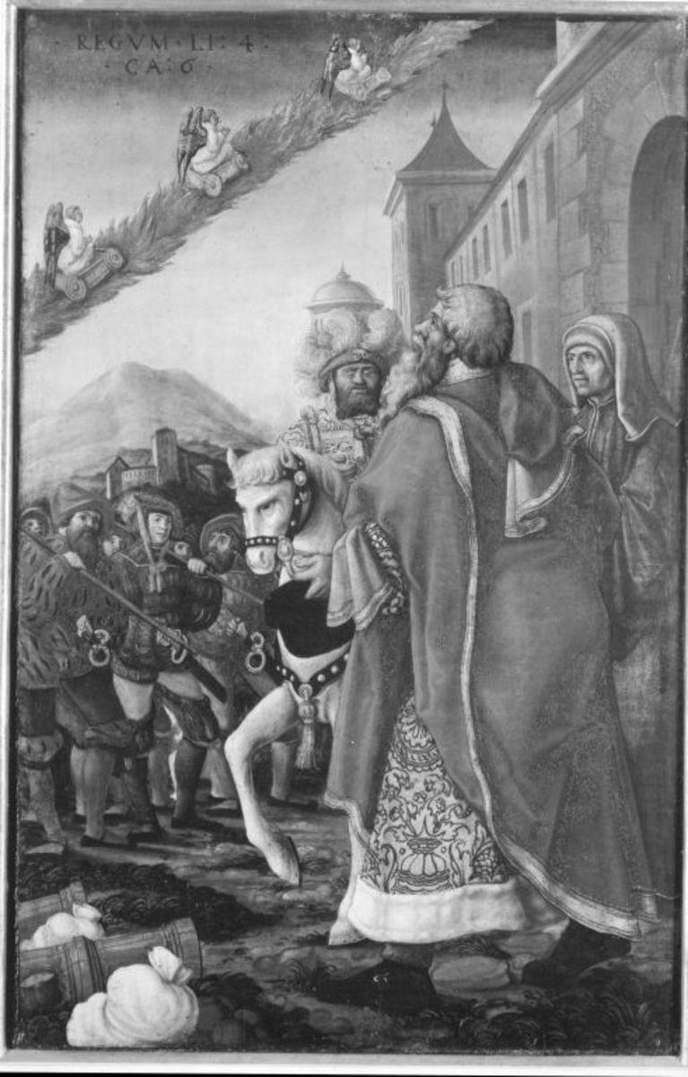 Das Heer des Syrerkönigs durch den Propheten Elias geblendet