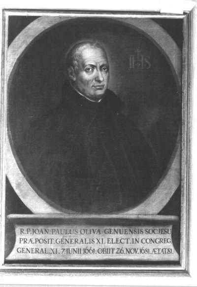Genuesischer Jesuit Joan-Paulus Oliva