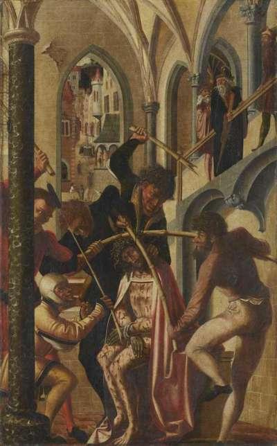 Jakobus-Stephanus-Altar: Dornenkrönung Christi
