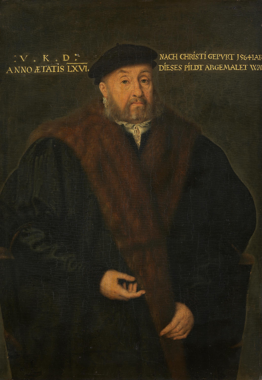 Bildnis eines Mannes im Alter von 66 Jahren