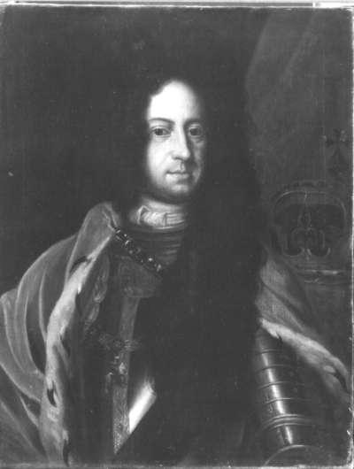 Bildnis eines englischen Königs (George I.?)