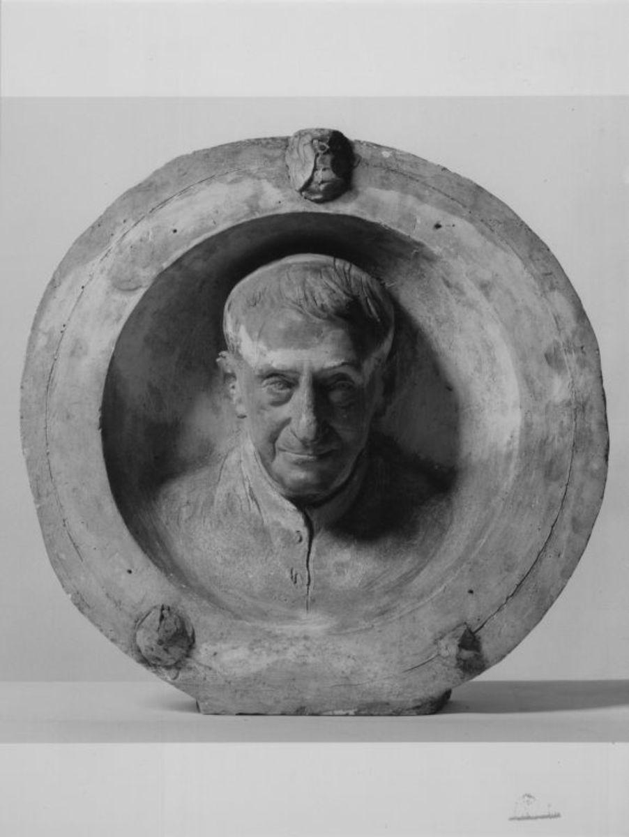 Der Theologe Ignaz von Döllinger (1799–1890)  (Modell für den Bildnistondo am Grabmal Döllingers auf dem Südfriedhof in München)