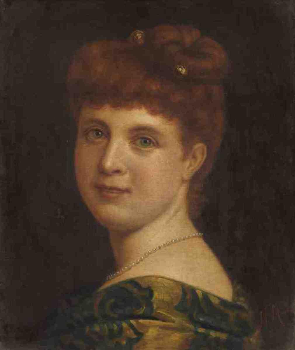 Bildnis einer Frau