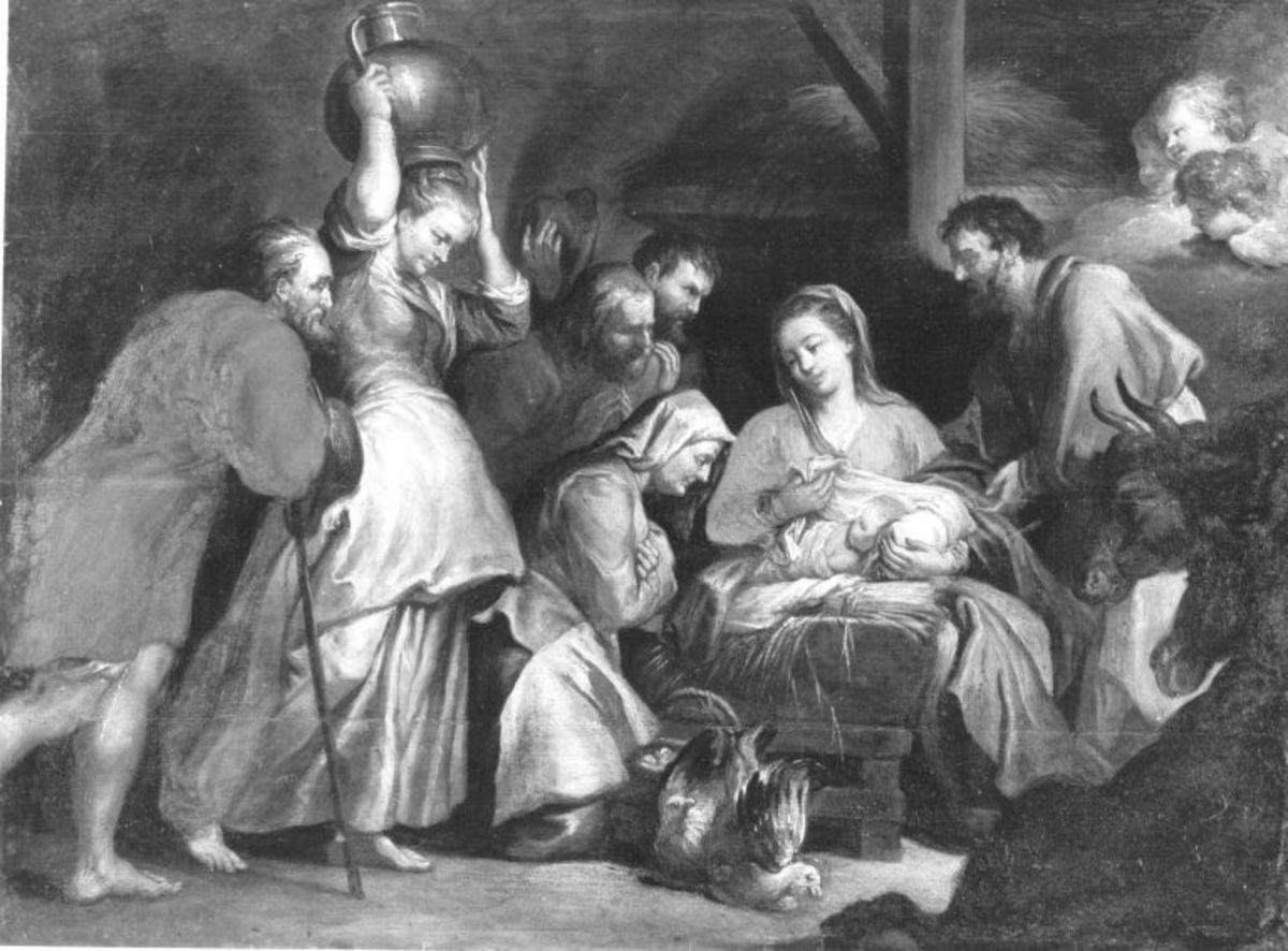 Anbetung der Hirten (nach dem Stich von Lucas Vorstermans d. Ä.)