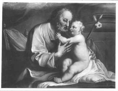 Der hl. Joseph mit Christuskind