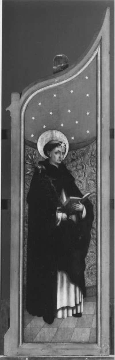 Altarflügel: Hl. Dominikus