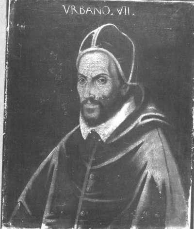 Bildnis des Papstes Urban VII.