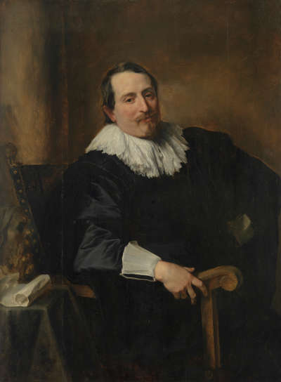 Bildnis des Malers Theodoor Rombouts