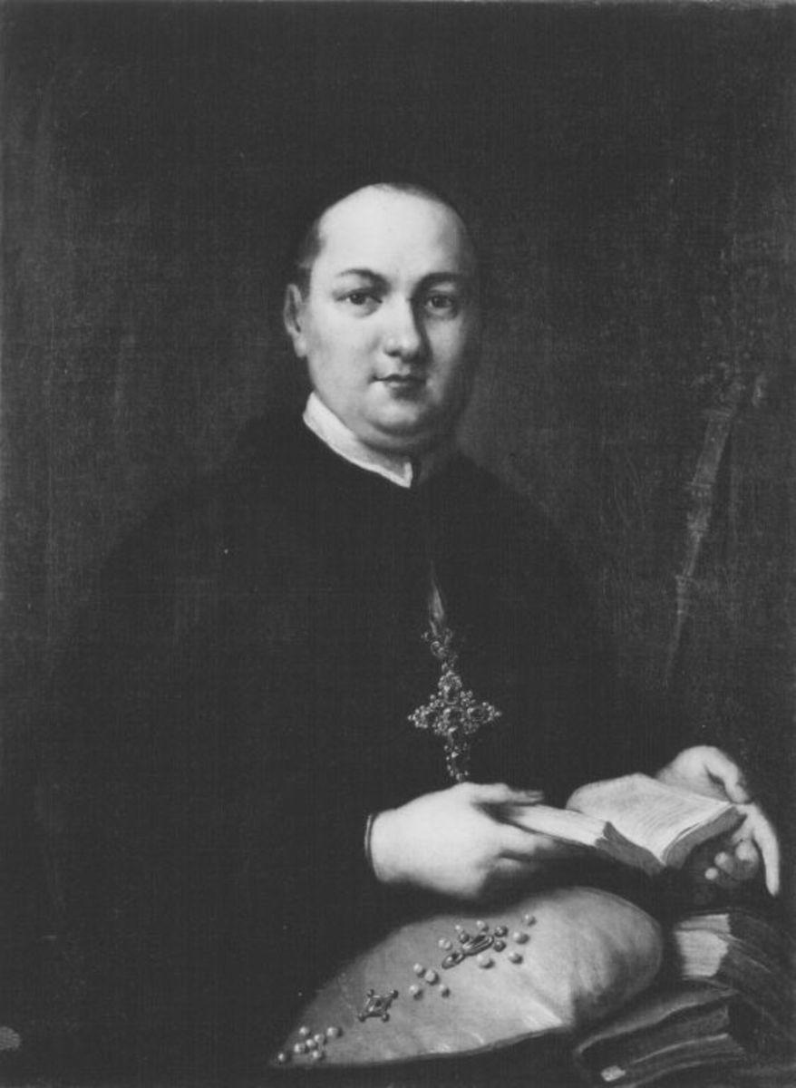 Bildnis des Abtes Magnus Pachinger von Benediktbeuern