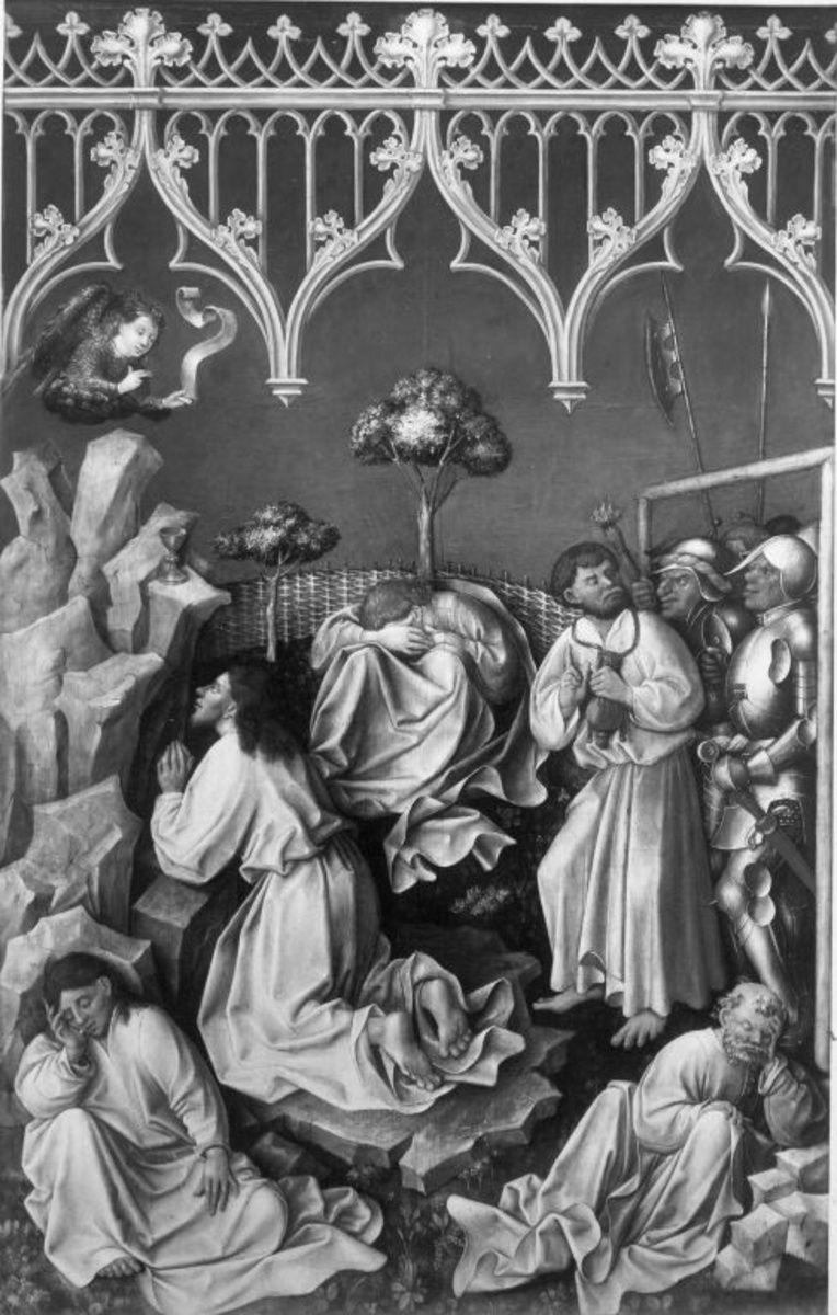 Tabula Magna: Christus am Ölberg