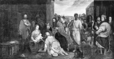 Anbetung der Heiligen Drei Könige