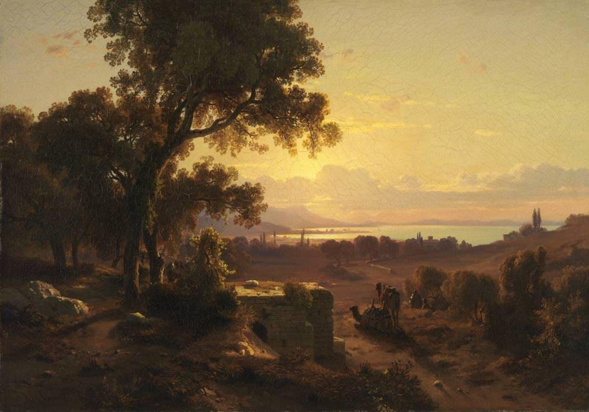 Ansicht von Smyrna, von der Karawanenstraße her gesehen