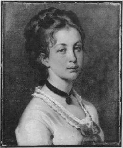Helene Thiersch, die Tochter des Künstlers