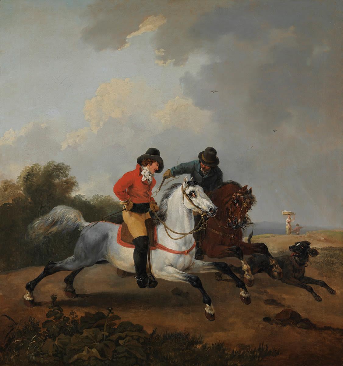 Zwei Reiter
