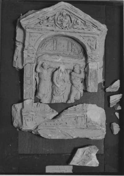 Entwurf für das Grabmahl eines Fabrikanten (James Caird?)